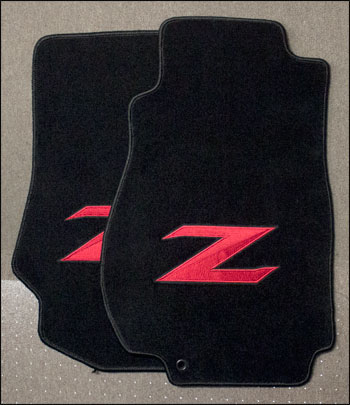 Motorsport Clearance Extreme Quot Z Quot Floor Mats Red 06 09