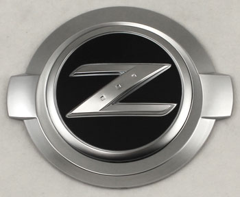 "Motorsport! 350Z ""Z"" Logo Emblem, Silver, 03-09 350Z - The ..."