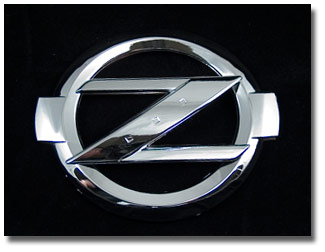Nissan on Chrome Big  Z  Logo Emblem  03 09 350z   The Z Store  Nissan