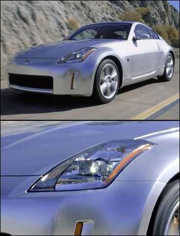03 nissan 350z headlights