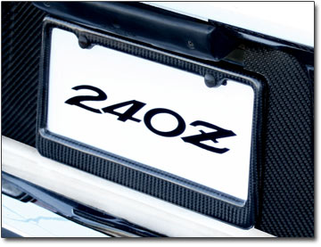carbon fiber license plate frame 70 16 zzx