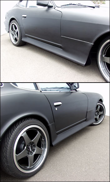 Motorsport! Type-3 Side Skirt Kit, 70-78 240Z-260Z-280Z ...