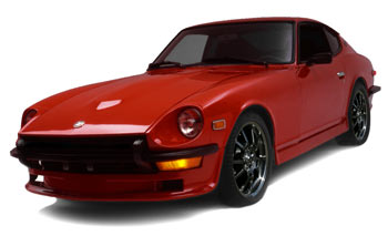 Large A on 1979 Datsun 280zx