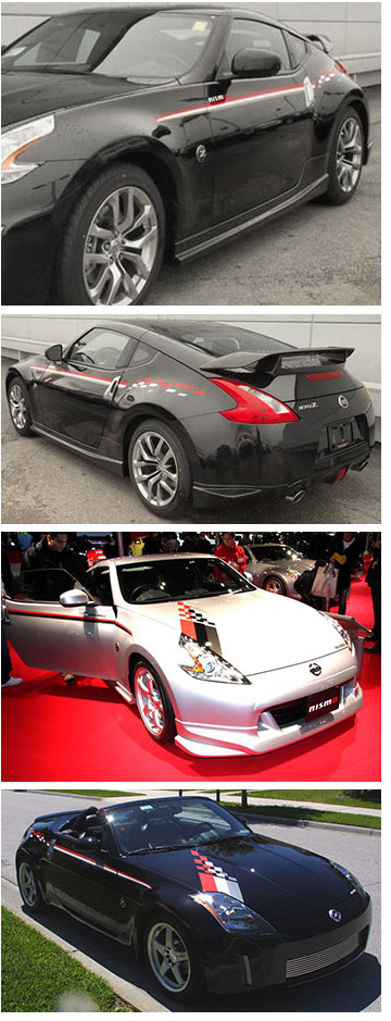 Motorsport! NISMO Graphics Kit, Red/White/Silver, 09-18 ...