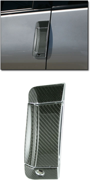 Motorsport Carbon Fiber Door Handle Cover Kit 03 09 350z