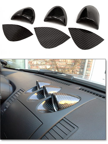 Motorsport Carbon Fiber Gauge Trim Kit 06 09 350z The Z Store Nissan Datsun 240z 260z 280z