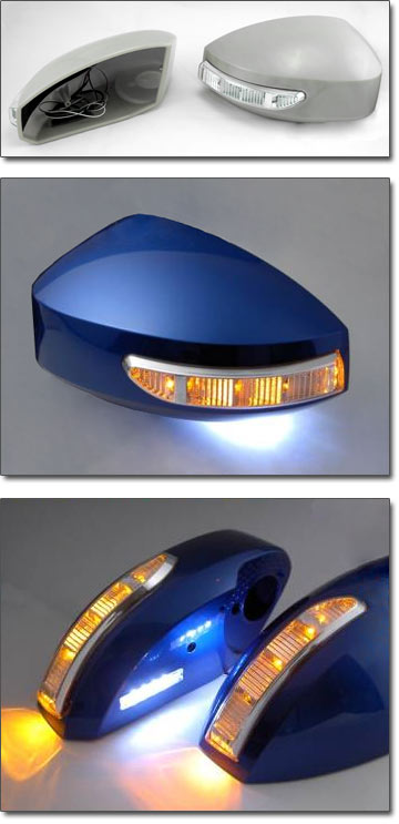 Motorsport Led Mirror Housing Kit 03 09 350z The Z