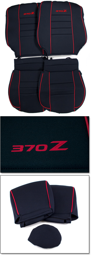Motorsport Sport Seat Covers Coupe Nismo Model 10 14