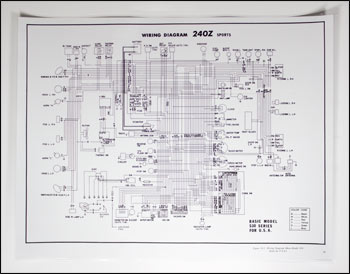large702011 motorsport! 240z wiring schematic poster the z store! nissan 240z wiring diagram at webbmarketing.co